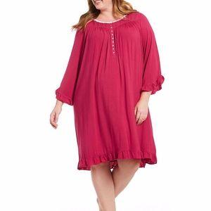Eileen West Modal 3X Nightgown NEW